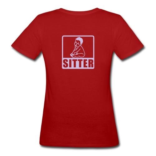 Shirt Babysitter - Frauen Bio-T-Shirt