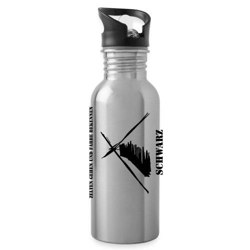 Schwarzflasche - Trinkflasche