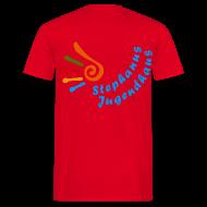 T-Shirts ~ Männer T-Shirt ~ Jugendhaus Teamer T-Shirt Name vorne und Logo hinten