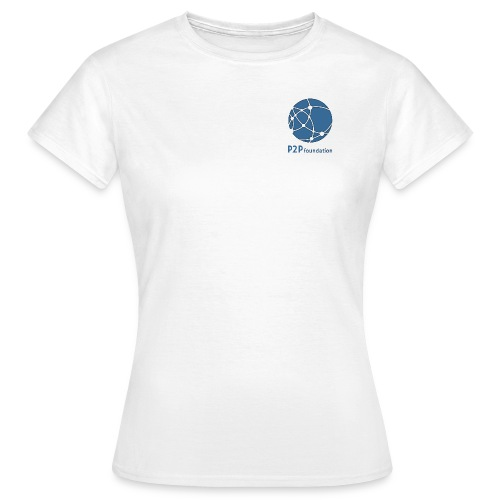 Women's White T-shirt (small logo) - Women's T-Shirt