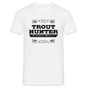 [Trout Hunter] blanc - Men's T-Shirt