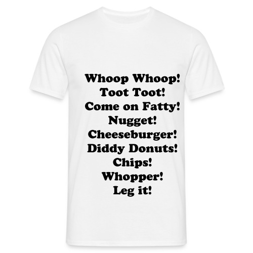 Neg's Set Menu - Men's T-Shirt - Men's T-Shirt