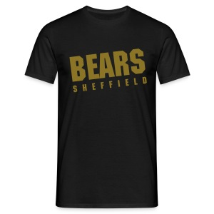 BEARS Vintage Tee - Black (Metallic) - Men's T-Shirt