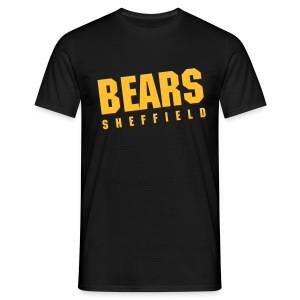 BEARS Vintage Tee - Black - Men's T-Shirt