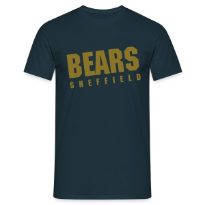 BEARS Vintage Tee - Navy (Metallic) - Men's T-Shirt
