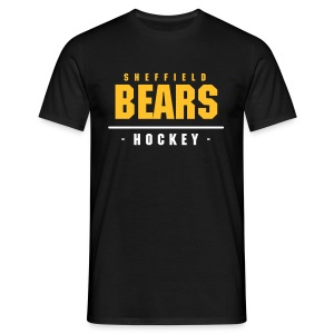 BEARS Hockey Tee - Black  - Men's T-Shirt