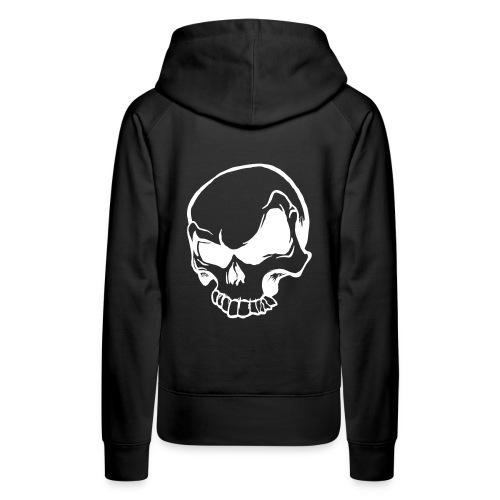 HYSTERESIE TETE DE MORT - Sweat-shirt à capuche Premium pour femmes