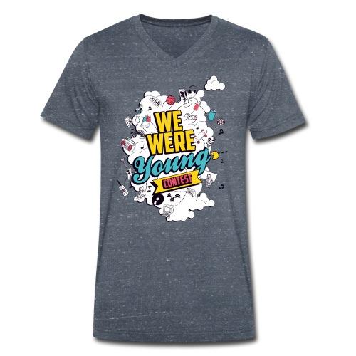 T-Shirt col v We Were Young - T-shirt bio col V Stanley & Stella Homme