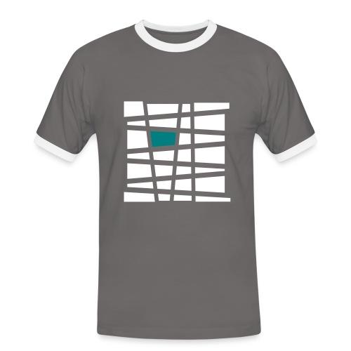 Muster Herrenshirt - Männer Kontrast-T-Shirt