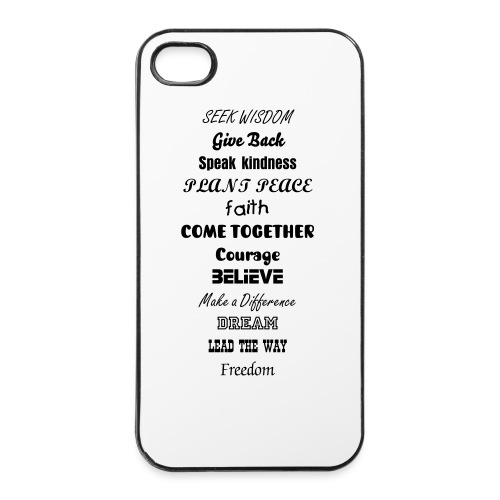 wise shell - iPhone 4/4s Hard Case
