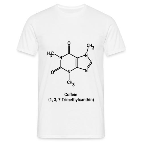 Caffeine - Männer T-Shirt