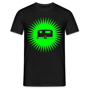 Caravan - Starburst Green - Men's T-Shirt