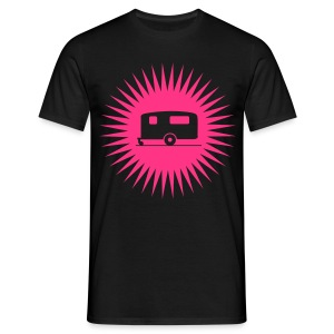 Caravan - Starburst Pink - Men's T-Shirt