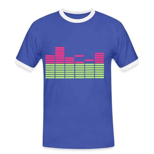 Shirt Equilizer - Männer Kontrast-T-Shirt