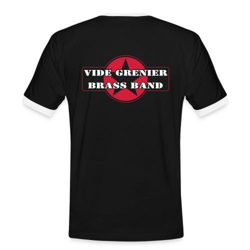 VGBB ROUGE - T-shirt contrasté Homme