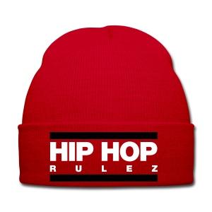 Hip-Hop Rulez Beanie - Wintermütze