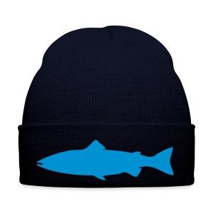 Fliegenfischen Mütze Lachs  - Wintermütze