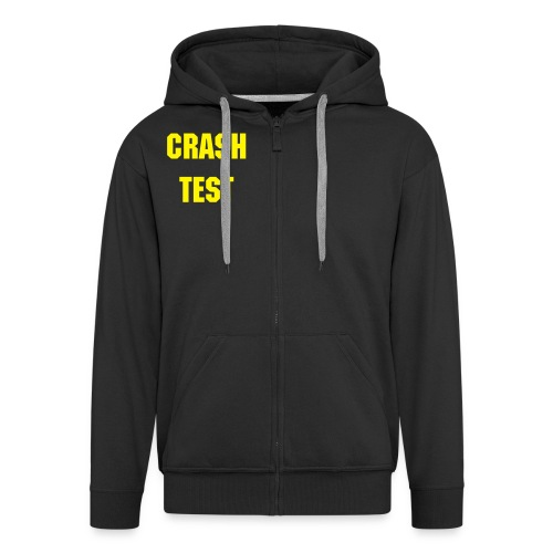 Crash Test - Men's Premium Hooded Jacket