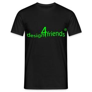 design4friends® Logo Shirt - Männer T-Shirt