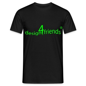 design4friends® Logo Shirt - Männer T-Shirt