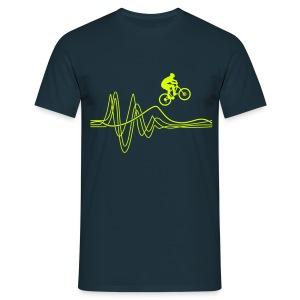 Jump T-shirt - Neon print - Men's T-Shirt