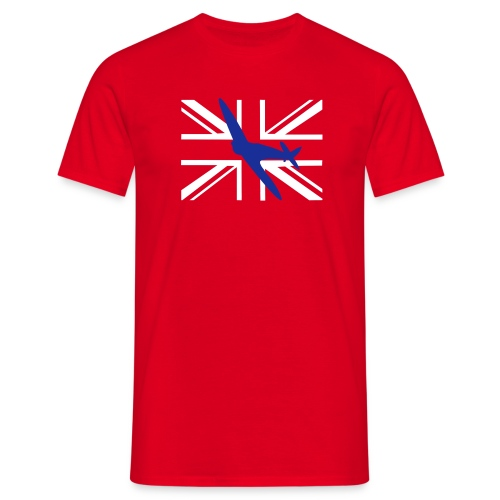 Spitfire Union Flag - Men's T-Shirt
