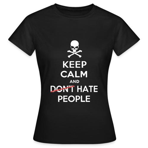Keep Calm and Hate People - Maglietta da donna