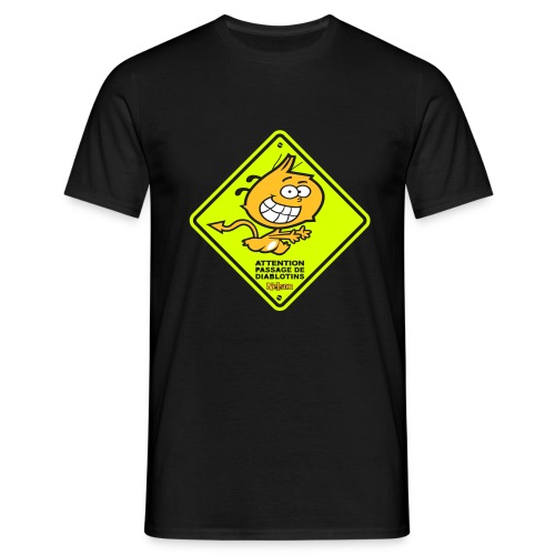 WARNING_Homme - T-shirt Homme