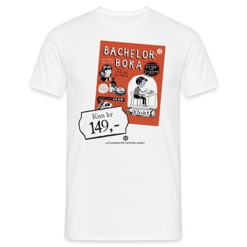 Bachelorboka - T-skjorte for menn