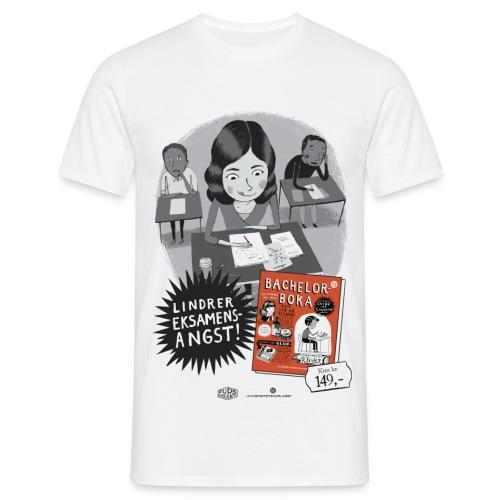 Lindrer eksamensangst - T-skjorte for menn