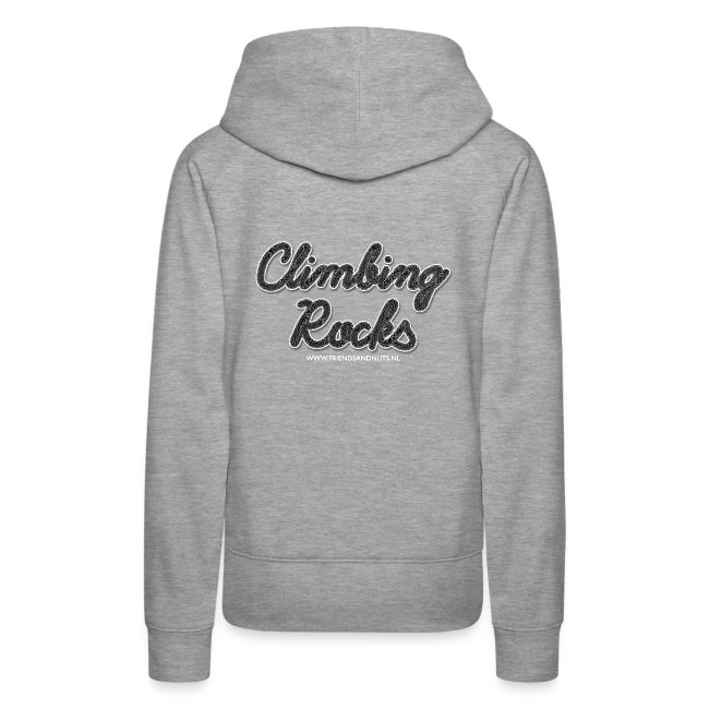 Climbing Rocks! Black (Women)