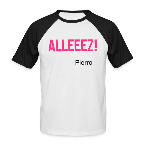 Pierro Style - T-shirt baseball manches courtes Homme