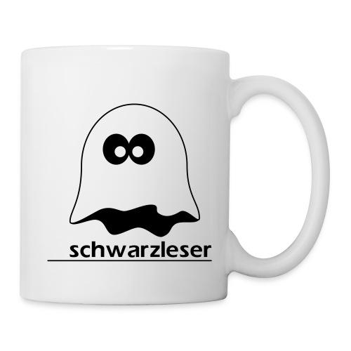 Motiv: Schwarzleser (klassisch) - Tasse
