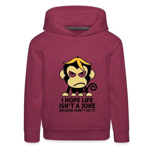 Monkey - Kid's Hood - Premium-Luvtröja barn