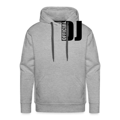 Official DJ Hooded Sweatshirt - Men's Premium Hoodie