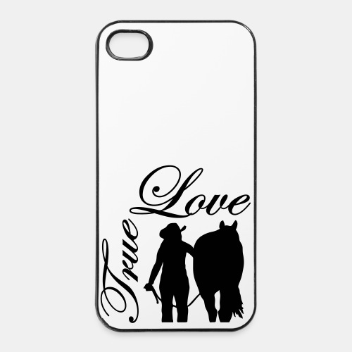 True Love Iphone 4 Case - iPhone 4/4s Hard Case