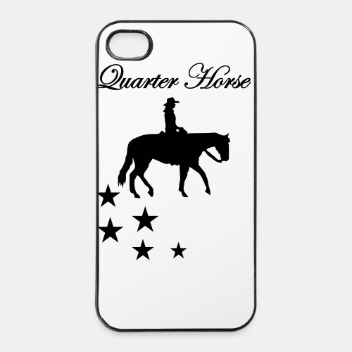 Quarter Horse Iphone 4 Case - iPhone 4/4s Hard Case