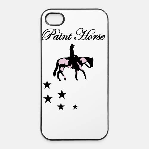 Paint Horse Iphone 4 Case - iPhone 4/4s Hard Case