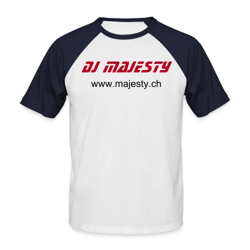 T-SHIRT Insc. torse (MAJESTY) - T-shirt baseball manches courtes Homme