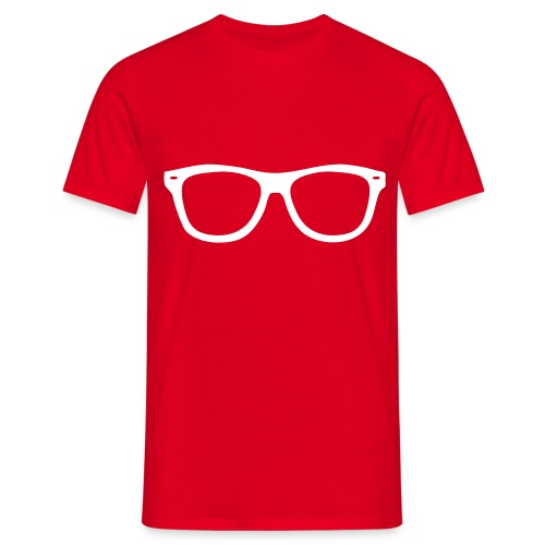 t-shirt occhiali - Maglietta da uomo