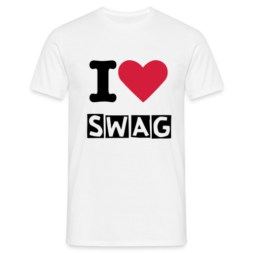 I Love Swag (Men Tshirt) - T-skjorte for menn