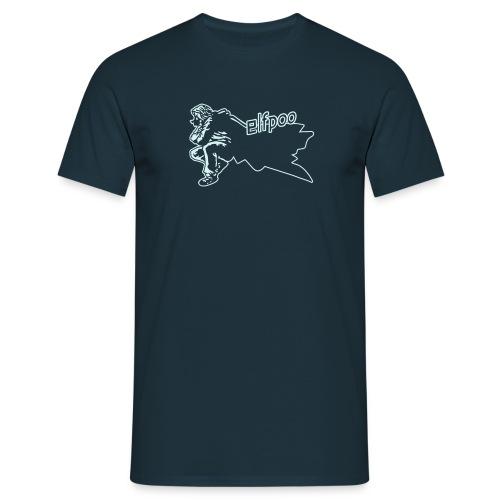 Elfpoo Cloaked Figure - Men's T-Shirt