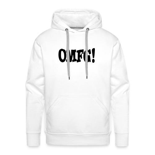 OMFG - Mannen Premium hoodie