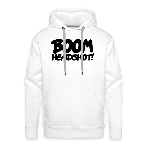 BOOM Headshot! - Mannen Premium hoodie