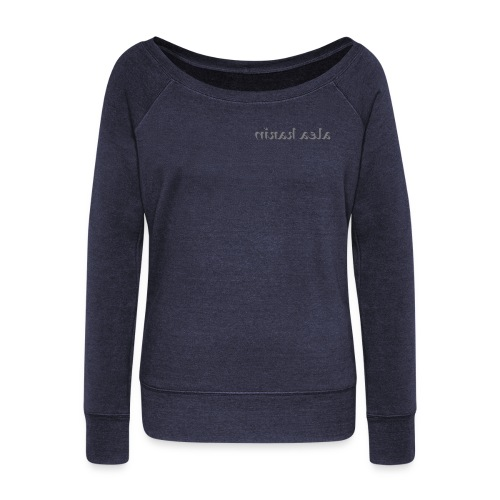Women's Boat Neck Long Sleeve Top - Collection BASIC STAR by Alea Karin