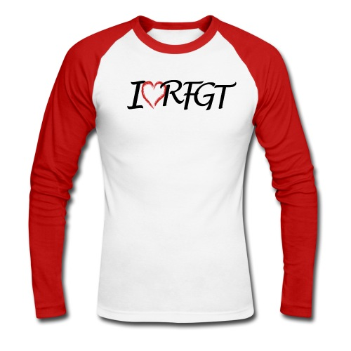 RFGT I love - Men's Long Sleeve Baseball T-Shirt