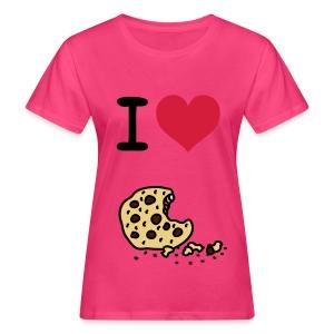 I Love Cookie. - Vrouwen Bio-T-shirt