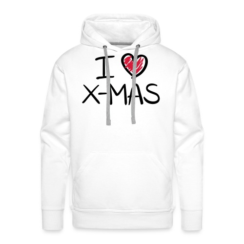 I love christmas - Mannen Premium hoodie