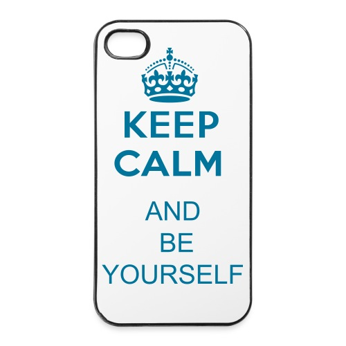 keep calm and - iPhone 4/4s hard case