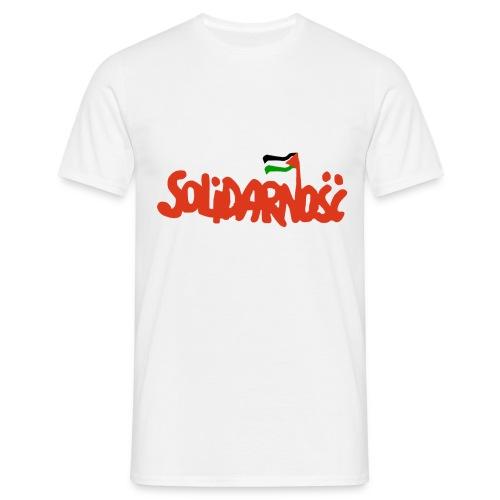 Solidarité avec la Palestine - T-shirt Homme
